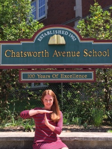 Chatsworth School PTA President, Kerry Roberts Sneyd calls for a Time Out.