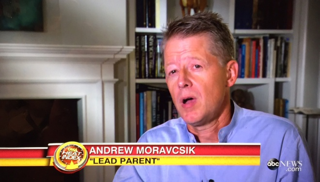 Andrew Moravcsik on Good  Morning America.