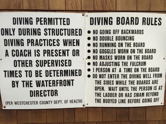 Can you still call it a diving board?
